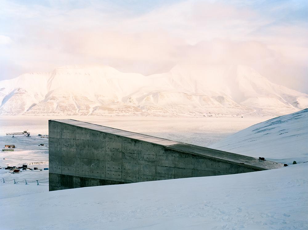 Svalbard Global Seed Vault    Spitsbergen Island, Norway