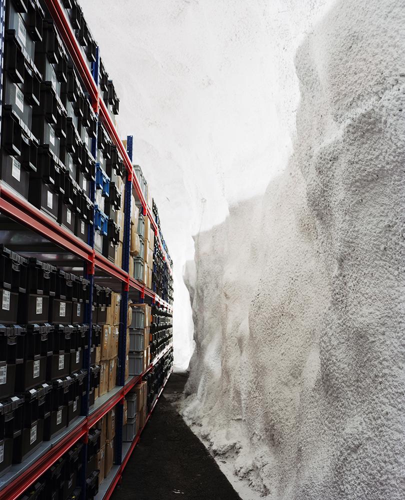 Vault Interior, Svalbard Global Seed Vault    Spitsbergen Island, Norway
