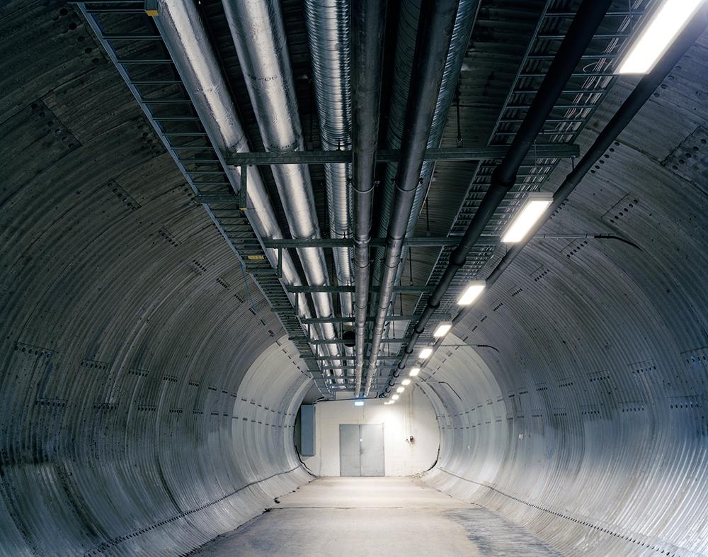 Entry Tunnel, Svalbard Global Seed Vault    Spitsbergen Island, Norway