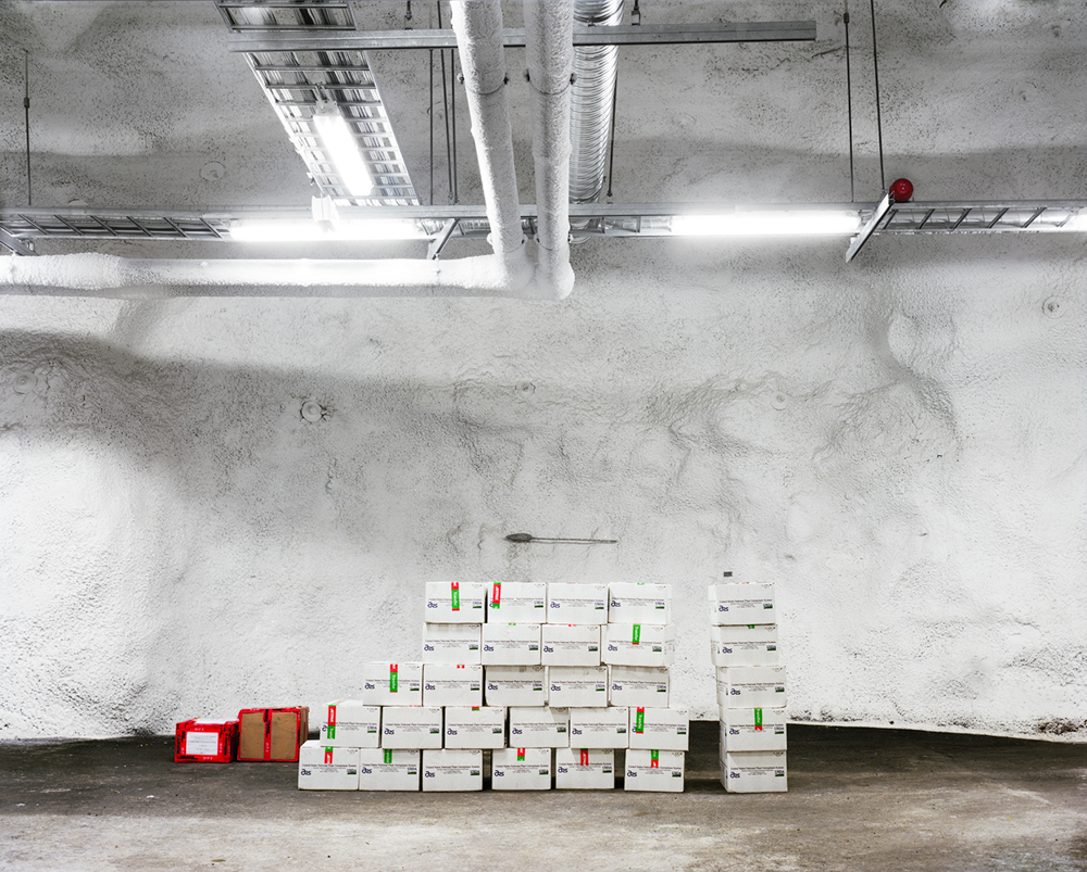Seed Accessions, Svalbard Global Seed Vault    Spitsbergen Island, Norway
