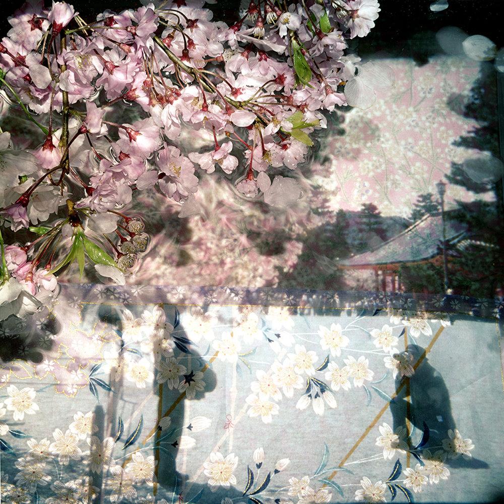 Heian-Jingu   44 x 44 inches