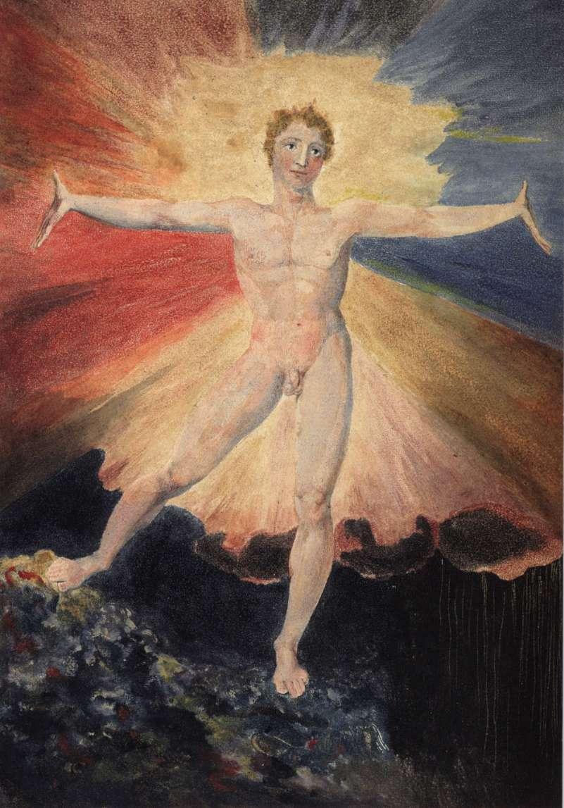 William Blake's image of Albion.