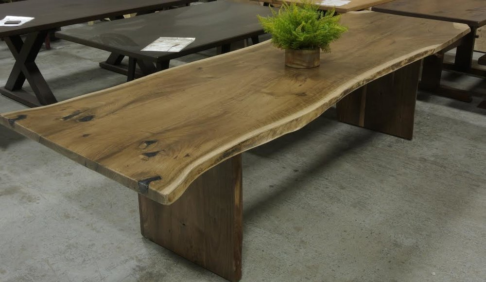 Walnut Live Edge Table on Slab Legs .jpg