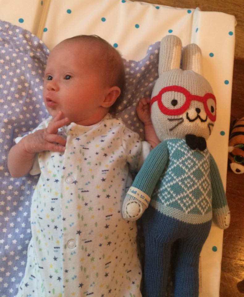 Benedict, from friends in the U.S.A. One doll gives ten meals to children in need  #cuddleandkind