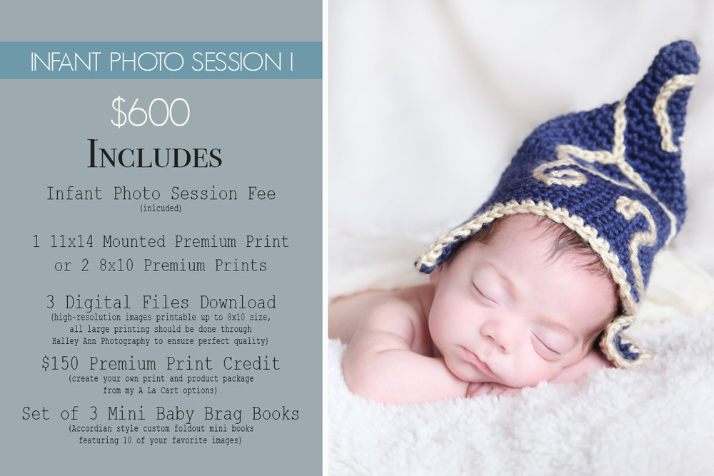 Newborn Photo Session Package - Northern New Jersey