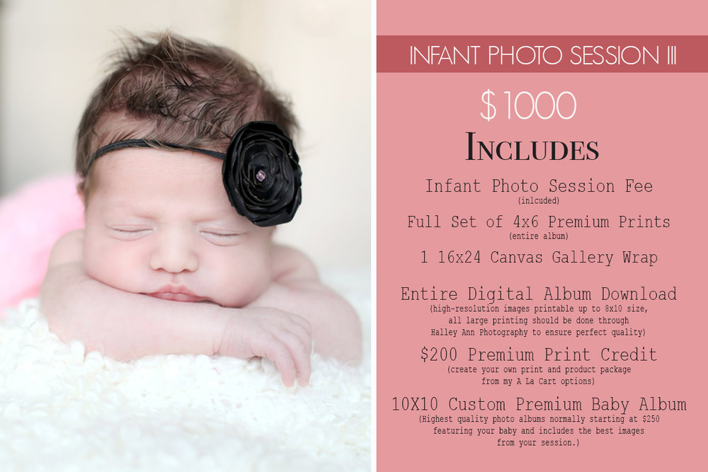 Newborn Photo Session Photography Package - Best Rated Bergen County Newborn Photographer