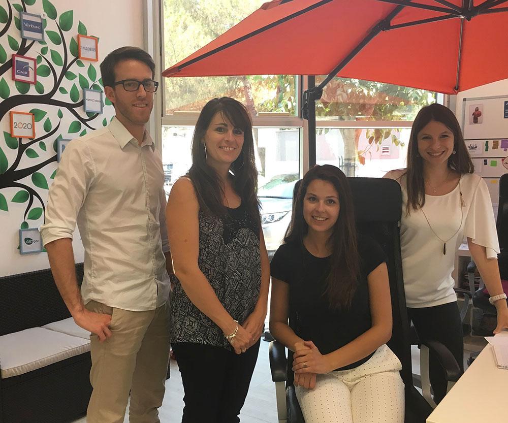 L'équipe AKTISEA avec Bouygues Immobilier