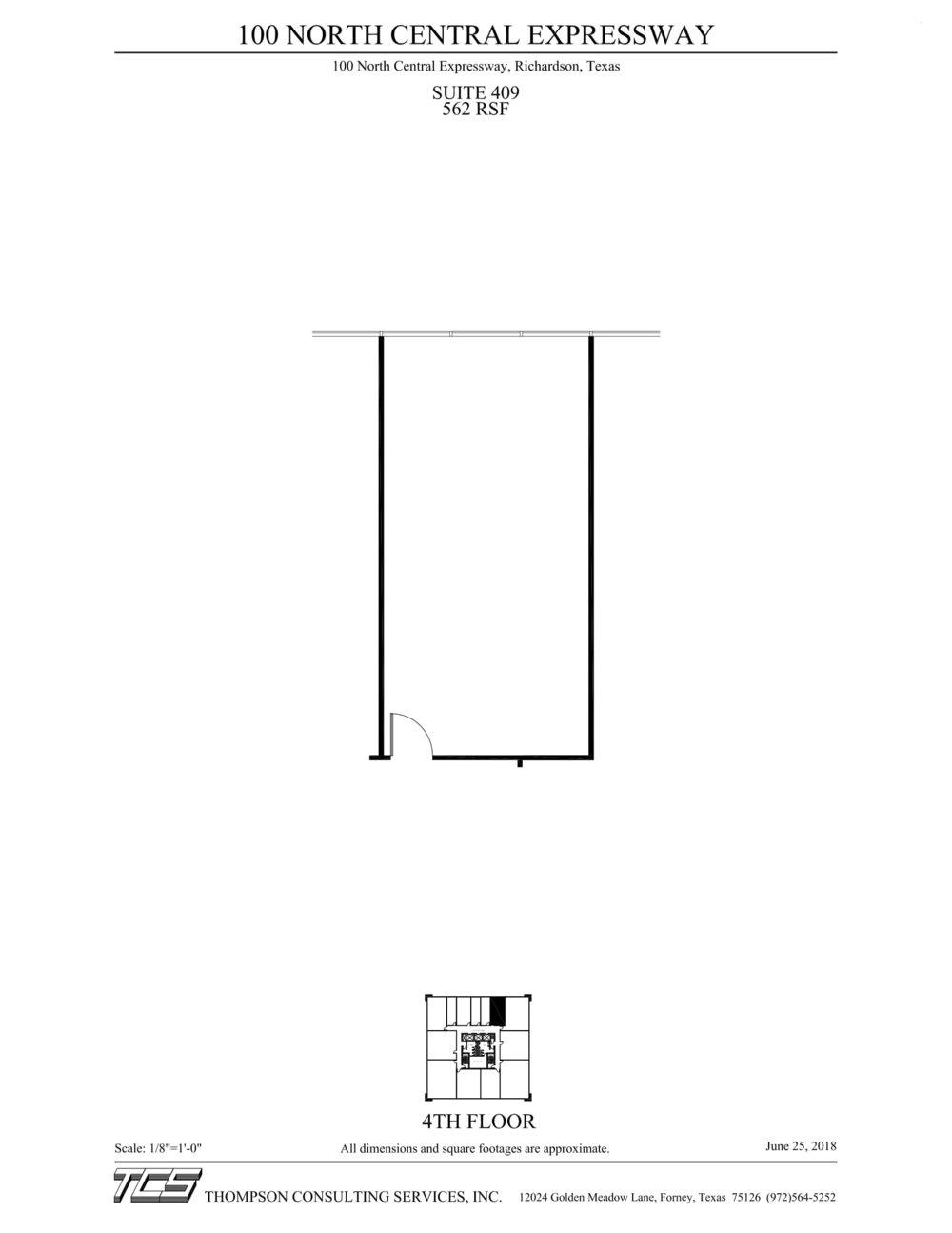 100 N Central Expressway - Suite 409 - Marketing plan-1
