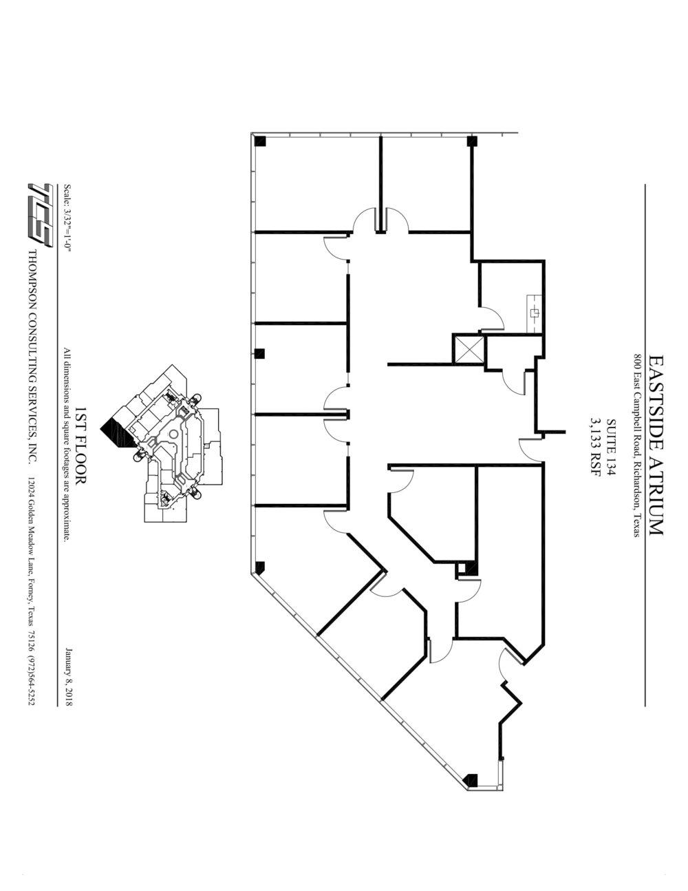 Eastside Atrium - Suite 134 - As-built-1