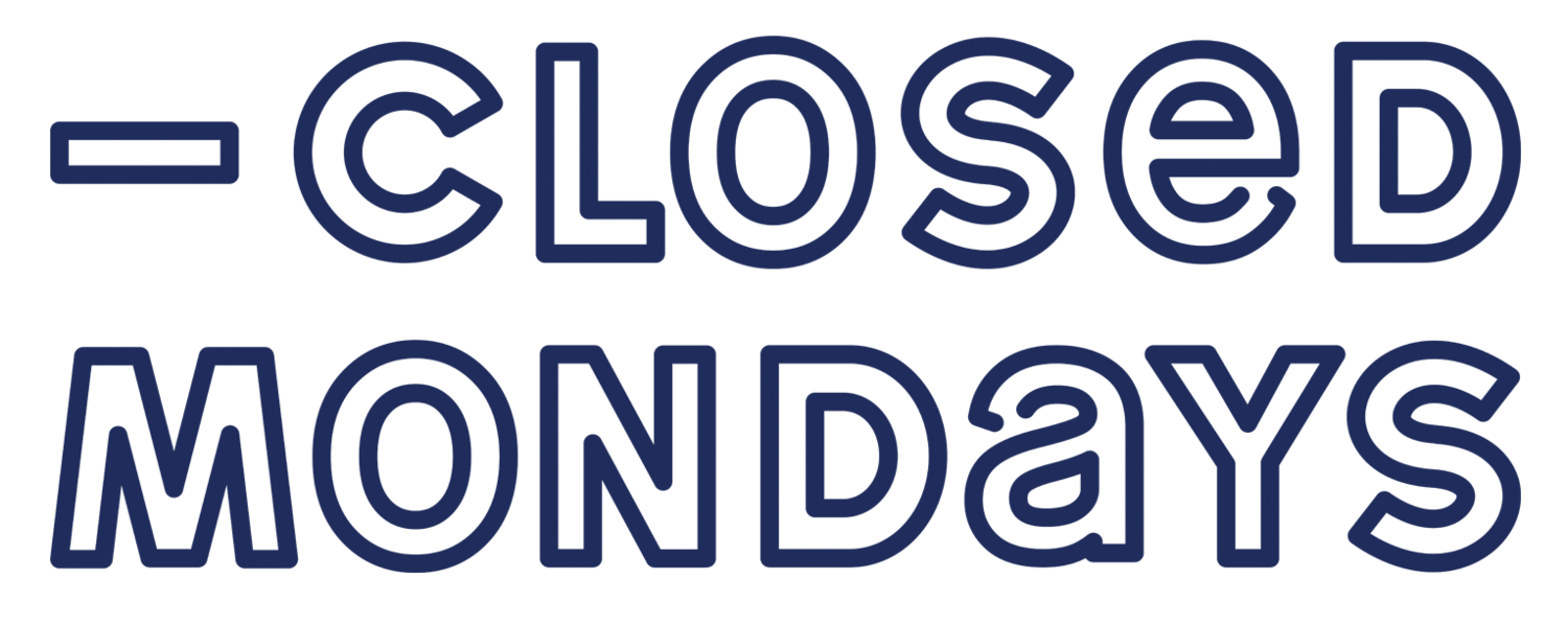 Closed Mondays