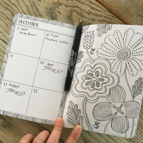 With Illustrations From The Bestselling Mindfulness Colouring Book For You To Fill Days Your Thoughts And Pages Colour