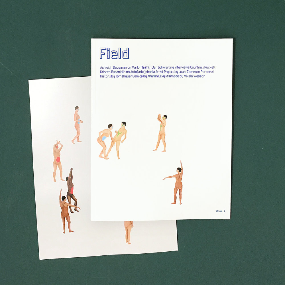 Field magazine Issue 3!