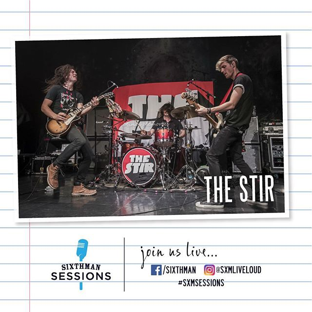 Tune in via Facebook Live for @sxmliveloud Sessions tomorrow Monday, August 20 around 2:00PM ET. We will be doing a short acoustic set with songs off our new EP! See you there!  https://www.facebook.com/events/2126658027593573/  facebook.com/sixthman  #SXMsessions #TheStir #ChrisJerichoCruise #Nightshift #atlantanusic #rocknroll #fozzy #judasrisingtour #facebooklive #acousticmusic #newmusic