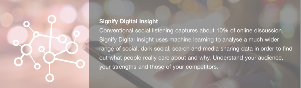 Signify Insight click for sales