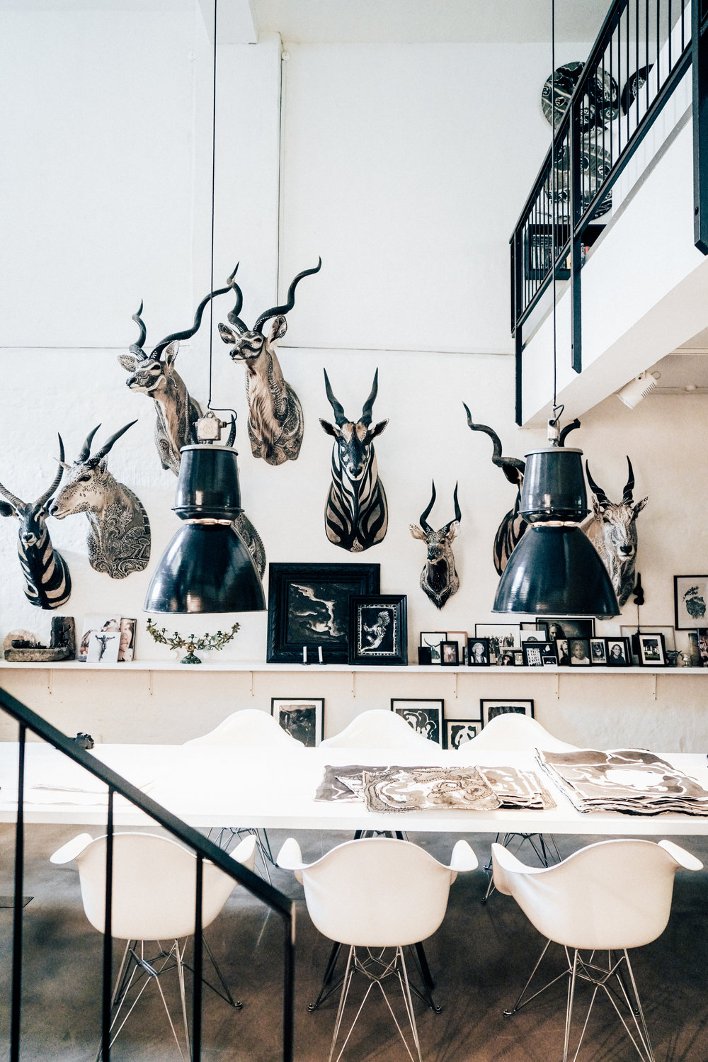 Morten Angelo's dining area