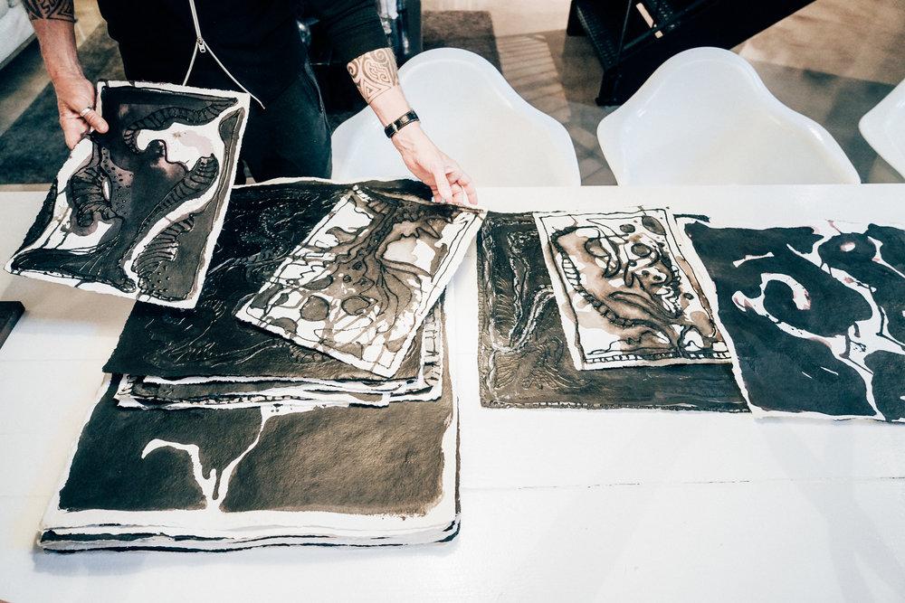Morten Angelo's art