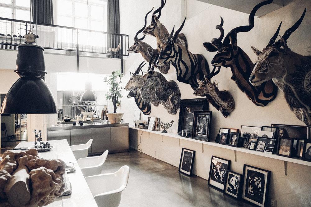 Morten Angelo's kitchen