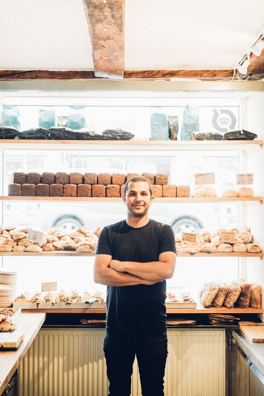 Martin Daniali in his shop