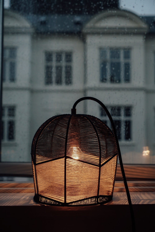 Alexandra Raben light at night