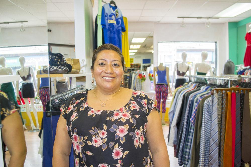 Blanca, Grameen America microloan borrower / Photo courtesy of Grameen America