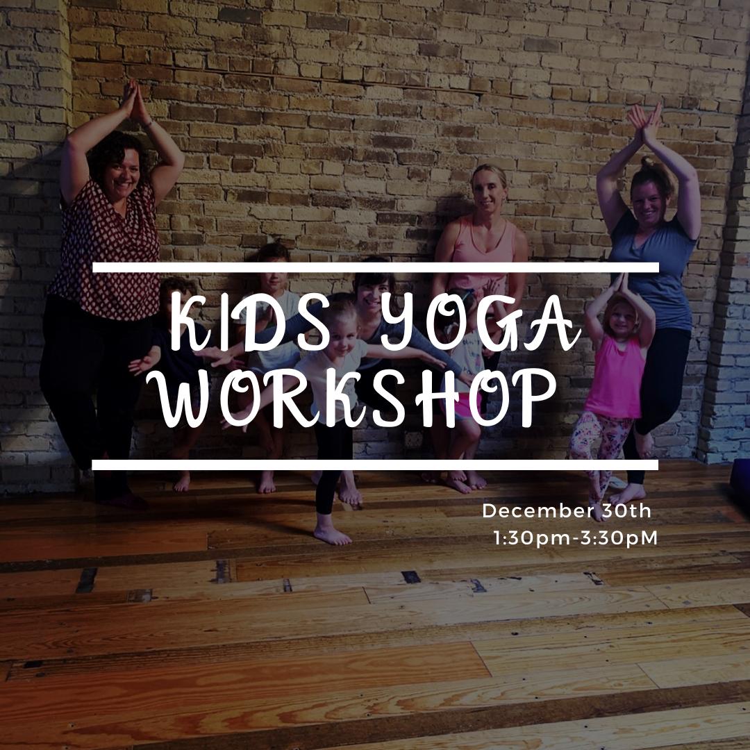 Kids Yoga Workshop Ages 6 12 Downtown Yoga Fargo