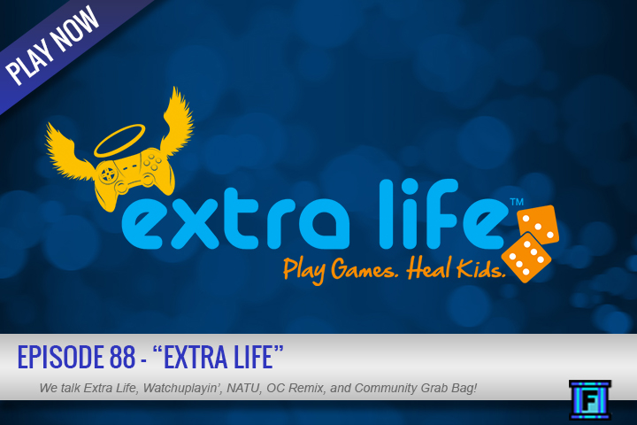 Summary - It's episode 88, Extra Life!This week, the guys discuss how the event went and give a recap on their efforts.  Pick the Lock, a game we got to play straight from the devs is on Kickstarter.  There was even some...home improvement!  Yeah, from these nerds!Thoughts are shared on the Warcraft trailer, some gaming news, AND we've got some grab bag questions to answer.Give it a whirl!