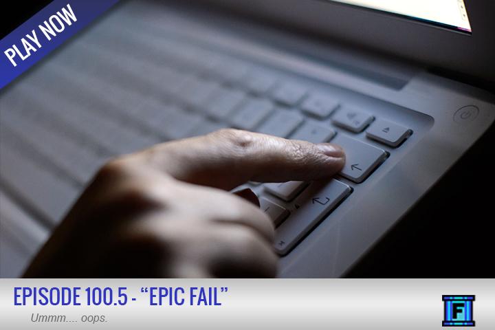 Summary - Were you looking for Episode 100....  Well.... It's hurts too much to type things out here.  Just listen to this recap episode and we will get you up to speed about all of the horrible details.  Prepare yourselves for the most depressing episode of this podcast....well....ever.Stay tuned next week for a return to your typical Fluxtaposed glory!