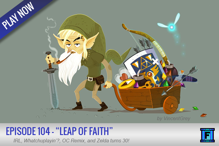 Summary - Fluxtaposed 104!  This week...in IRL we hit, Gamefly, Wildtree, DroidCam, and a NEW CAR!!!  Come on down!  The Legend of Zelda: 30th AnniversaryWe also share our memories and thoughts on the landmark franchise that Zelda is.