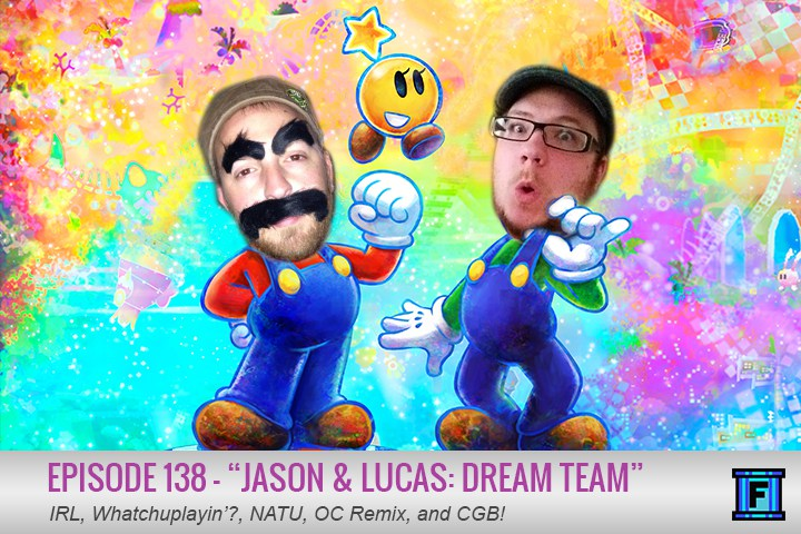 Summary - No longer must you dream of Fluxtaposed to experience the wonderful... err... experience that is our podcast. No friends, it's finally here, it's episode 138. Featuring levels with names like IRL, Whatchuplayin'?, and NATU, you will truly be floating on cloud 9. But in real life. Did I mention it's not a dream?