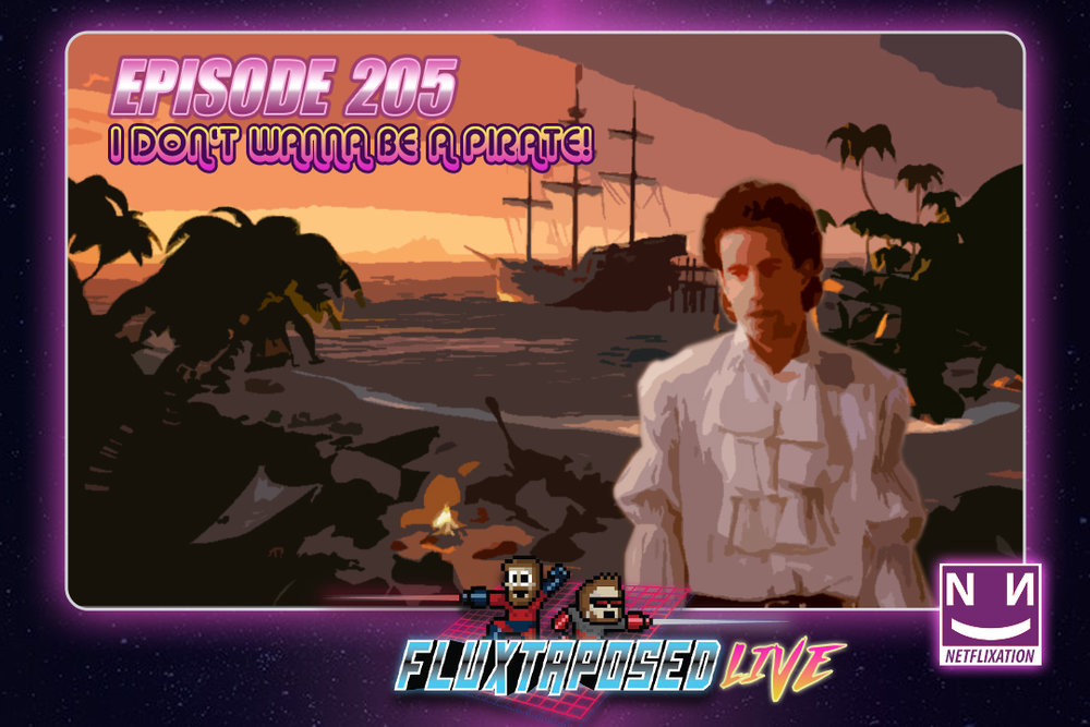 Summary - Pull up a chair, this is Fluxtaposed, episode 205 recorded on March 27th, 2018. On the docket today -  IRL, our latest Netflixation, Mute (WE DISAGREE), get caught up on Whatchuplayin' featuring Sea of Thieves and The Gift. Finally, we will close out the show with the community grab bag and that sweet, sweet, awkward finish. Thanks for listening, thanks for watching, and enjoy the show!