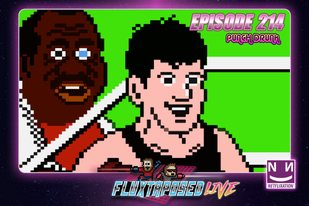 Summary - Pull up a chair, this is Fluxtaposed, episode 214 recorded on June 5th, 2018. On the docket today -  IRL, Netflixation on Southpaw, get caught up on Whatchuplayin' featuring Mario Tennis & Grim Dawn. Finally, we will close out the show with the community grab bag and that sweet, sweet, awkward finish. Thanks for listening, thanks for watching, and enjoy the show!