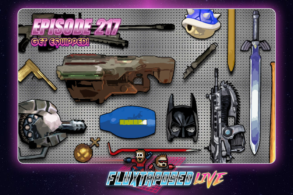 Summary - Pull up a chair, this is Fluxtaposed, episode 217 recorded on June 26th, 2018. On the docket today -  IRL, our top 3's RETURN, get caught up on Whatchuplayin' featuring Hollow Knight & Mario & Rabbids . Finally, we will close out the show with the community grab bag and that sweet, sweet, awkward finish. Thanks for listening, thanks for watching, and enjoy the show!