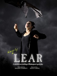 New friends added to the 24th ST family - thanks to Susanna Hamnett & Karen Jenson in NEARLY LEAR!