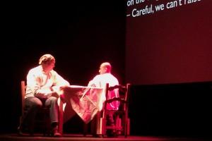 La Razon Blindada told their story at the Rubicon Theatre in Ventura last winter.