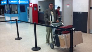Aziz Gual, acclaimed Mexican Clown, arrives at LAX!
