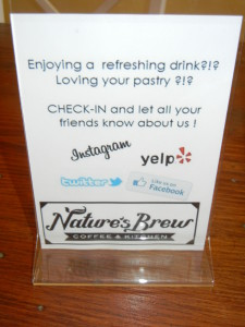 Tag photos of your #NaturesBrewView treats & they'll be shared w/ the community!