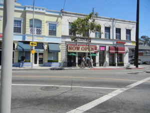 The view from our corner (24th & hoover). Just a crosswalk & 1/2 away!