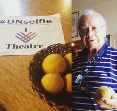 11:30 AM - Our neighbor Arthur stopped in to offer a bowl of fresh citrus. Just one of the many surprises daily on a typical Tuesday.