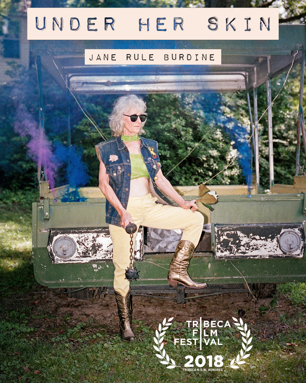 NEWS: We got into Tribeca Film Festival 2018!!!  With Under Her Skin: Jane Rule Burdine. View Trailer  Here.