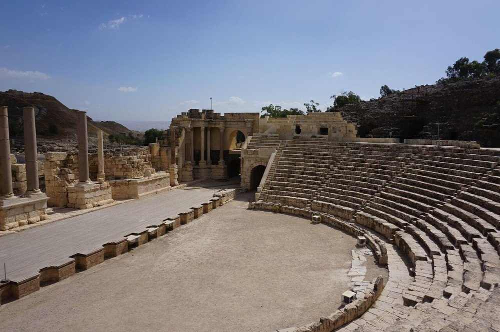 Bet Shean, Israel