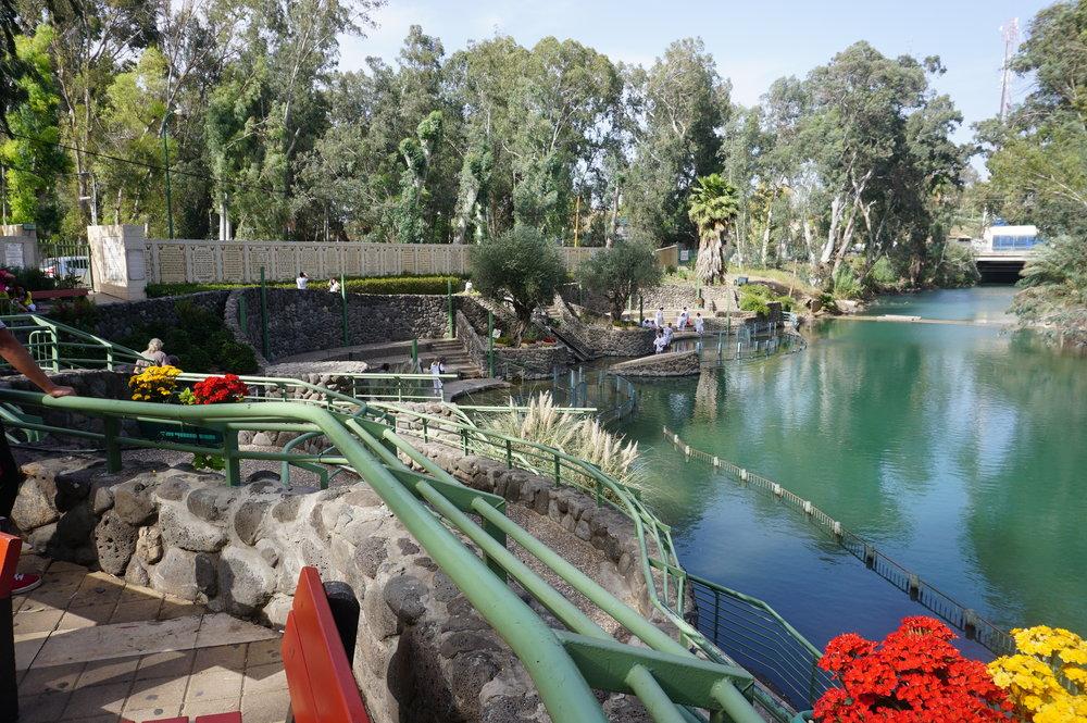 Baptismal Site on the Jordan River - Yardenit