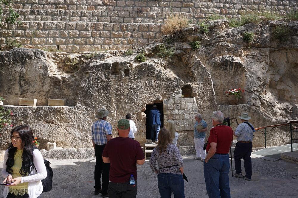 The Garden Tomb Jerusalem Israel 1.JPG