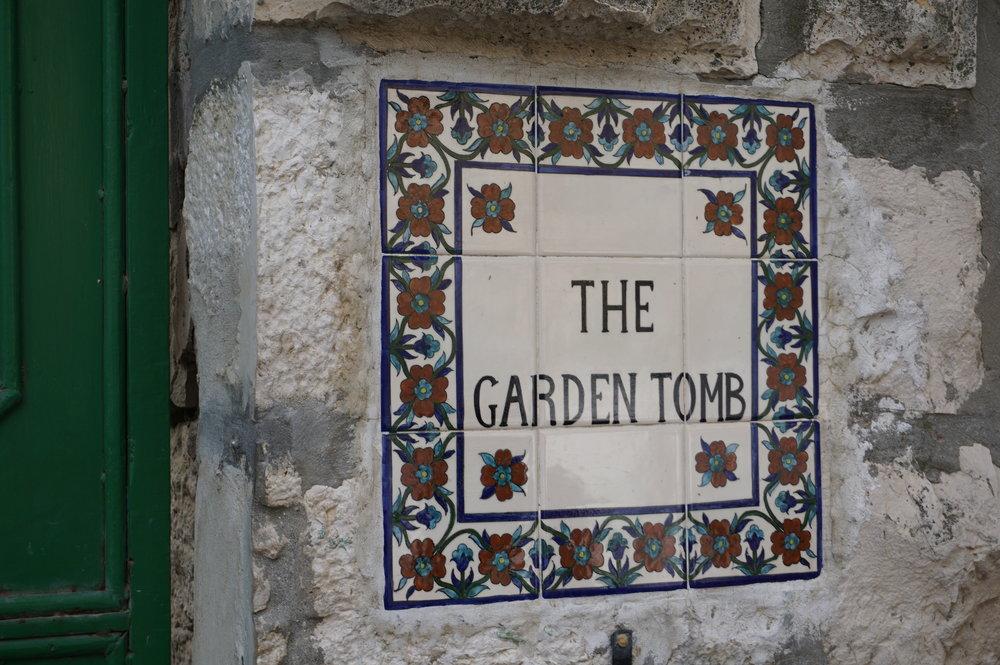 The Garden Tomb Jerusalem Israel.JPG