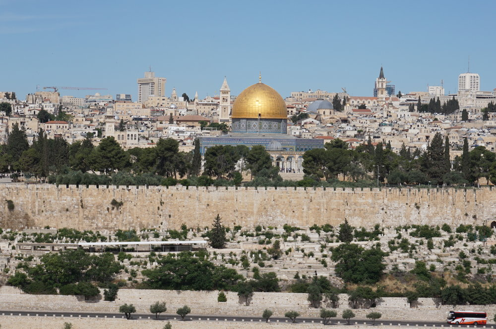 Dome of the Rock from the Mount of Olives Jerusalem Israel.JPG