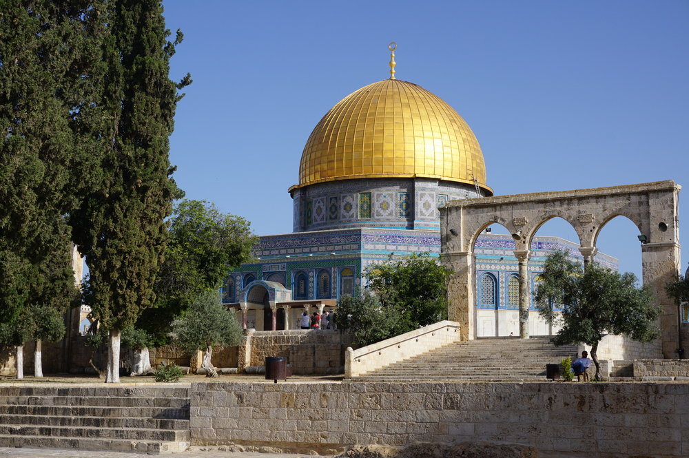 Temple Mount Dome of the Rock Jerusalem Israel 1.JPG