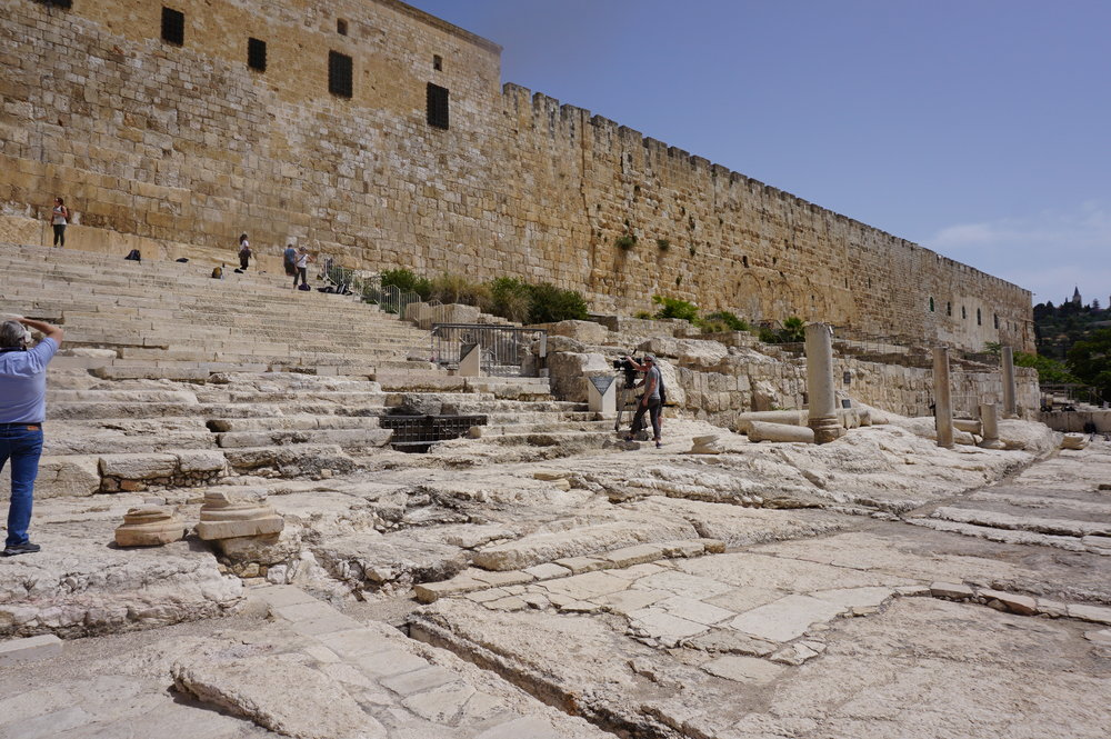 The Southern Steps Jerusalem Israel.JPG