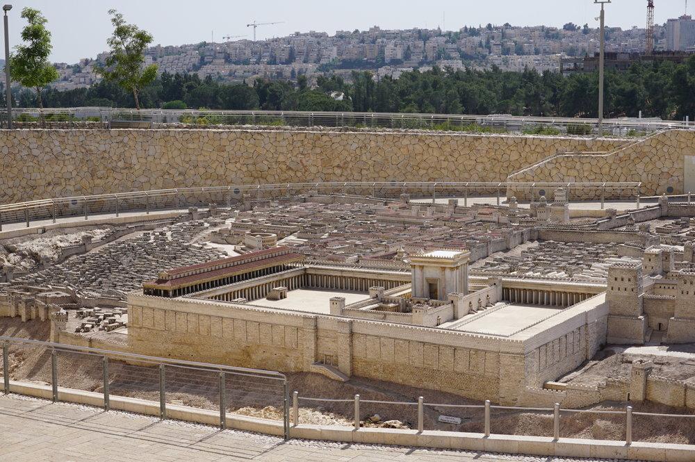 Model of Ancient Jerusalem Israel 1.JPG