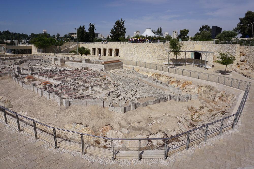 Model of Ancient Jerusalem Israel 2.JPG