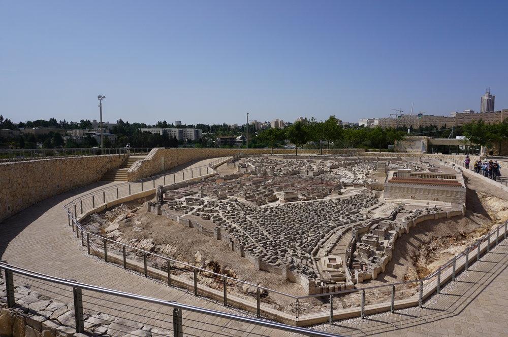 Model of Ancient Jerusalem Israel 3.JPG