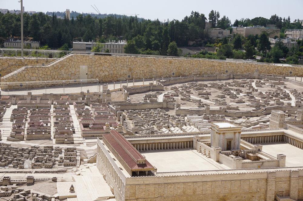 Model of Ancient Jerusalem Israel 4.JPG